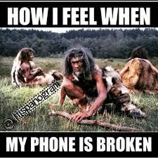 Broken Phone Meme - broken cell phone meme mne vse pohuj