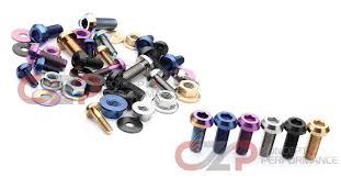 nissan accessories south africa torqen titanium engine bay bolt kit nissan 350z 03 06 z33 tqn
