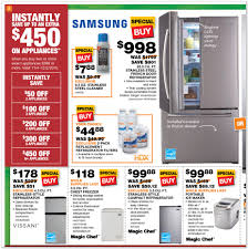 home depot black friday dates home depot black friday appliance ad