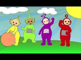 teletubbies color swap transforms coloring video kids