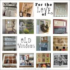 Using Old Window Frames To Decorate Old Window Craft Ideas Remodelaholic 100 Ways To Use Old Windows