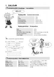 esl worksheets for adults greetings
