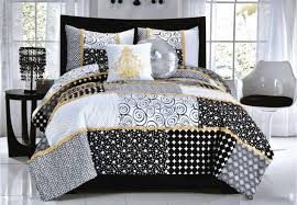 bedding set white and gray bedding discretion black and white
