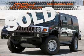 2007 hummer h2 suv 3rd row seat bose city california mdk