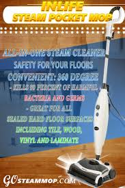 Steam Mop For Laminate Wood Floors Inlife Steam Pocket Mop Reviews Best Steam Mop Reviews