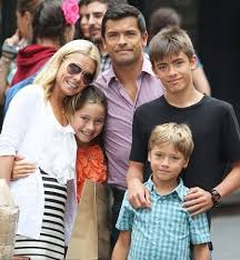 kelly ripa children pictures 2014 mark consuelos celeb baby laundry