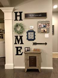 how to do a gallery wall copied these ideas and combined them to make my own rustic style