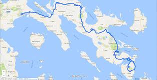 Map Of Tour De France by Le Tour De Filipinas
