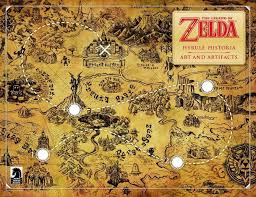 legend of zelda map ign barnes and noble holding zelda arts and artifacts event at select