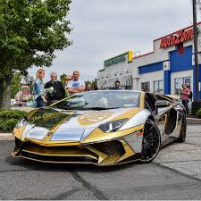 maserati gold chrome the lamborghini huracan lamborghini aventador lamborghini and cars