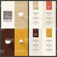 restaurant menu design stock vector art 537313885 istock