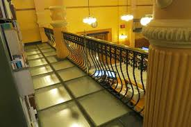 glass floor of library picture of kansas state capitol building