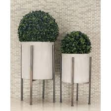 planter with legs wayfair