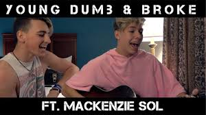 Mackenzie Meme - young dumb broke khalid jon klaasen ft mackenzie sol youtube