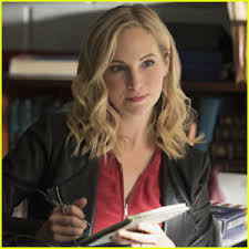 vire diaries hairstyles caroline candice king reveals her favorite caroline moments from the vire