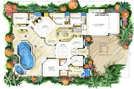 mediterranean style floor plans florenza ii budron homes