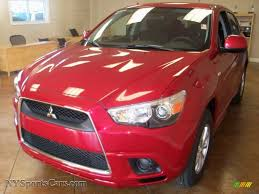red mitsubishi outlander 2011 mitsubishi outlander sport es in rally red metallic 000372