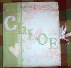 baby albums baby scrapbooking ideas for mini albums