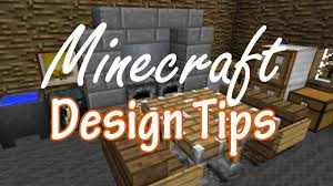 minecraft interior design tips youtube