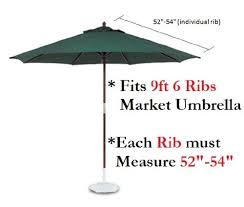 How To Fix Patio Umbrella Amazon Com 9ft Umbrella Replacement Canopy 6 Ribs In Taupe