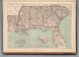 Georgia South Carolina Map South Carolina Georgia Florida Alabama Mississippi And