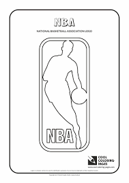 nba logo coloring pages 9 best images about nba coloring sheets on