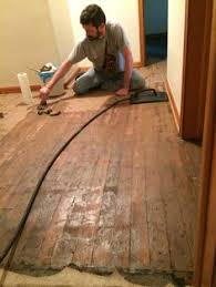 i removed 1940 s floor tar linoleum with water and
