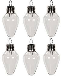 Shatterproof Light Bulbs Light Bulb Clear Plastic Fillable Light Bulbs Lot Of 12 Shatter