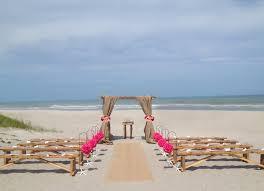 wedding arches coast decorations