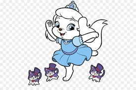Livre de coloriage Disney Princess Palace Pets Chiot  chiot