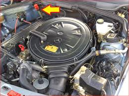 transmission fluid for mercedes i can t seem to find where i add fluid in my 1991 mercedes