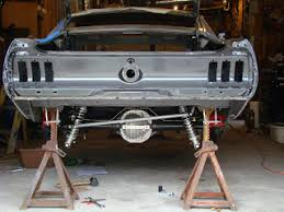 1968 mustang rear end 1968 mustang fastback restoration build rear axle goes in the mustang