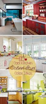 paint color ideas for kitchen cabinets 80 cool kitchen cabinet paint color ideas