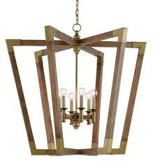Wooden Chandelier Lighting Bastian Chandelier Currey U0026 Company