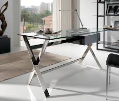 Modern Glass Office Desks Modern Glass Desk Wonderful Enchanting Modern Glass Office Desk