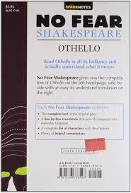 othello sparknotes no fear shakespeare amazon co uk sparknotes