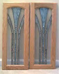 Custom Cabinet Doors Glass 23 Best Stained Glass Cabinet Doors Images On Pinterest Stained