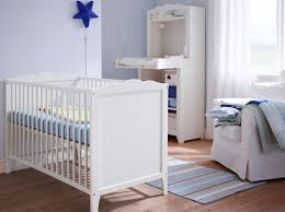 Matching Crib And Changing Table A White Baby Crib With Matching Changing Table Nursery Design