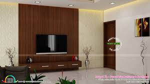 master bedroom living and wardrobe designs kerala home design