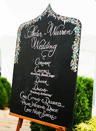 Wedding Program Chalkboard Tyro Virginia Wedding From Katie Stoops Wedding Order