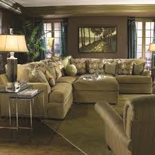 10 Foot Sectional Sofa Huntington House 7100 Casual Contemporary L Shape Sectional Sofa