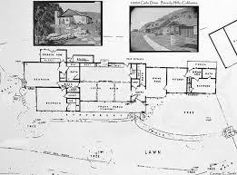 10050 Cielo Drive Floor Plan | cielo drive actual blueprints from encanto sunland s photostream