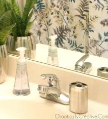 Removing Bathroom Faucet by Removing A Bathroom Faucet And Replacing It Chaotically Creative