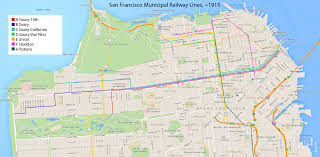San Francisco Streetcar Map Why Is San Francisco U0027s Public Transportation So Bad