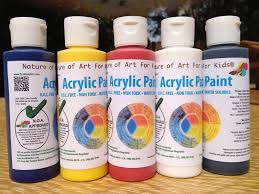 buy acrylic safe artist paints for kids earth friendly official