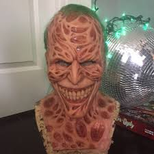 freddy krueger sweater spirit halloween creepy halloween mask combines freddy krueger and the joker