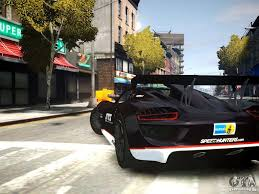 Porsche 918 Gta 5 - porsche 918 spider body kit final for gta 4