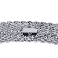 bracelet silver sterling tiffany images Tiffany co sterling silver somerset mesh bracelet boca raton jpg