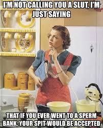Housewife Meme - 1950s housewife meme generator