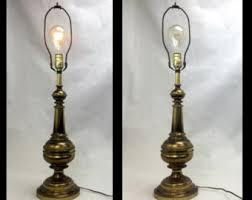 Table Lamp Brass Bulb Holder Brass Table Lamp Etsy